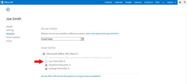 Office365RemoveLicense