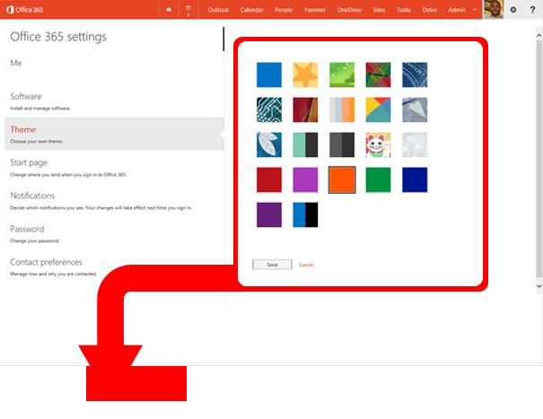 Office 365 Themes Good Bad Ugly Rick Zeleznik Technology